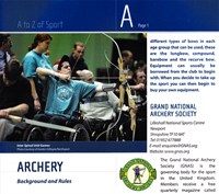 Active! Sports, Leisure and Arts: a Directory for physically impaired people in the UK