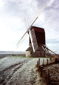 The 18th Century Windmill at Stevington