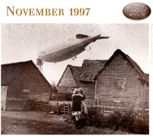 The R1010 moored to its Cardington mast in 1929