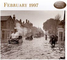 The rapid thaw of 1947 causes havoc along St Johns