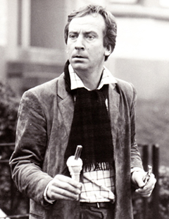 Bill Paterson played the lead role of DJ Alan Bird in the Bill Forsyth film Comfort and Joy